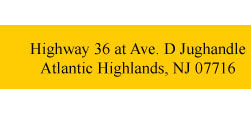 Highway 36 at Ave. D Jughandle Atlantic Highlands, NJ 07716
